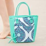 Personalized Cooler Tote Boho Print