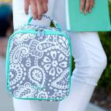 Personalized Parker Paisley Lunch Box