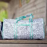 Personalized Parker Paisley Duffel Bag