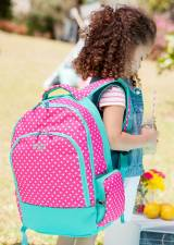 Personalized Dottie Polka Dot Backpack