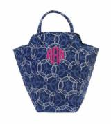 Monogrammed Knot-ical EVA Laundry Tote