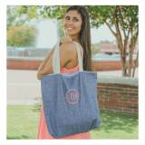 Monogrammed Chambray Everyday Tote