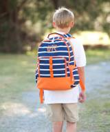 Personalized Line Up Striped Backpack