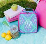 Personalized Marlee Mandala Print Lunch Box