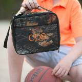 Personalized Woods Camouflage Lunch Box