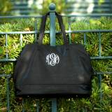 Personalized Black Vegan Leather Cambridge  . . .