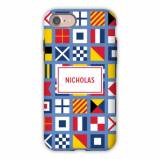 Personalized IPhone Case Nautical Flags