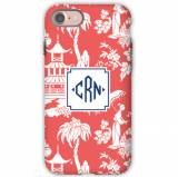 Personalized IPhone Case Pagoda Coral