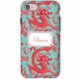 Personalized IPhone Case Imperial Coral