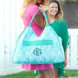 Personalized Poolside Palm Beach Bag