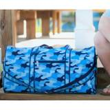Personalized Cool Camo Duffel Bag