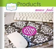 Clairebella Monogrammed Mouse Pad - What A Great Gift For The ...