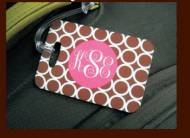 Clairebella Monogrammed Luggage Tags