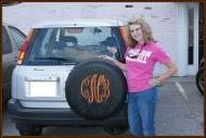 Monogrammed Tire Covers!!! You Will Have To Send Us Yours!