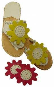 Girls Flower Sandal - CHILD Sizes