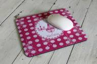 Clairebella Monogrammed Mouse Pads For Kids