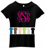 Monogrammed T Shirt For Ladies