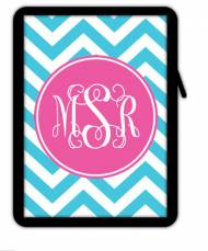 Monogrammed Ipad Sleeve Or Kindle Case- Create Your Own!!