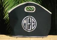 Queen Bea Monogrammed GG Bar Harbor Black Tote