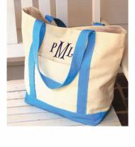 Monogrammed  Large Boat Totes