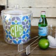 Clairebella Monogrammed Ice Bucket Design Your Own!