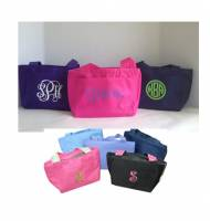 Monogrammed Lunch Totes   Our Best Selling Lunch Box  8 Colors In ...