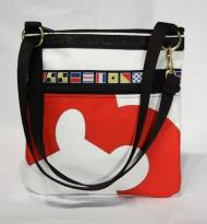 Ella Vickers Sailcloth Metro Bag With Oversized Personalization