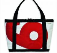 Ella Vickers Zippered Tote Bag With Oversized Letters Or Numbers