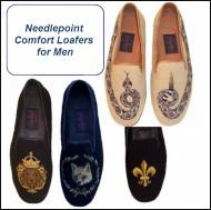 Needlepoint Loafers For Men