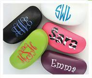 Monogrammed Hard Shell Sunglass Cases