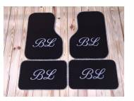 Monogrammed Car Mats - Front-Wheel Drive Cars