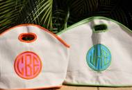 Queen Bea GG Bag With Dot Or Varsity Letter Applique