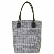 Basketweave Recycled Tote In 4 Colors