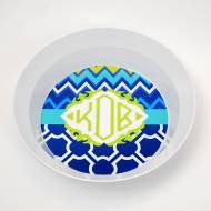 Personalized Melamine Bowl In Great Patterns And Colors