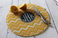 Monogrammed Round Cutting Boards