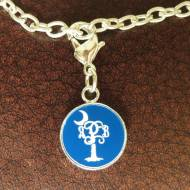 Engraved Monogram Palmetto Acrylic Color Charm Bracelet