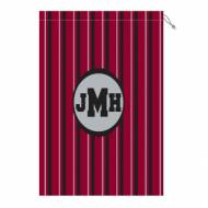 Monogram Gamecock Laundry Bag In Garnet And Black