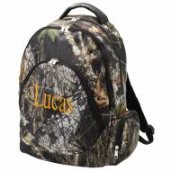 Monogrammed Woods Camo Backpack With Tablet Compartment