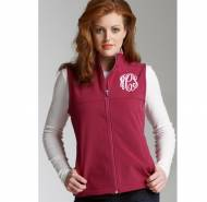 Monogrammed Soft Shell Vest In 3 Colors