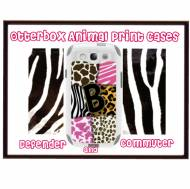 Customized Animal Print OtterBox Case For IPhone And Galaxy