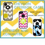 Customized Chevron OtterBox Cases For IPhone And Galaxy