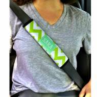 Monogrammed Seatbelt Covers For Kids, Sorority Or Adults