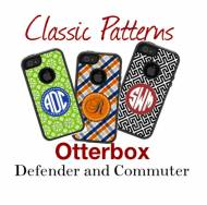 Customized Classic Pattern OtterBox Cases For IPhone And Galaxy