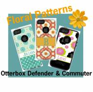Customized Floral OtterBox Cases For IPhone And Galaxy