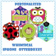 Customized Whimsical And Fun OtterBox Commuter Cases For IPhone And ...