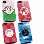 Monogrammed Tough Iphone Cases  For 4, 5, 5s And Samsung Galaxy S5
