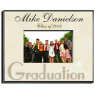 Personalized Graduation Parchment Colored Frame 8x10