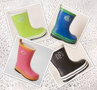 Monogrammed Childrens Colorful Boots For Rain And Snow