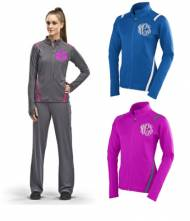 Monogrammed Warmup Suits In 6 Colors
