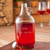 Engraved Wine Jug Great For Other Beverages Too